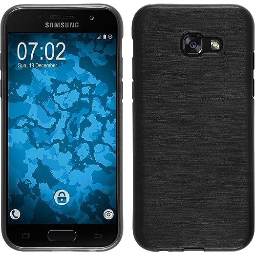 2 opinioni per PhoneNatic Custodia Samsung Galaxy A3 2017 Cover argento brushed Galaxy A3 2017