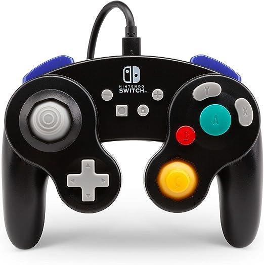 Mando Con Cable, Estilo Gamecube Negro (Nintendo Switch): Amazon.es: Videojuegos