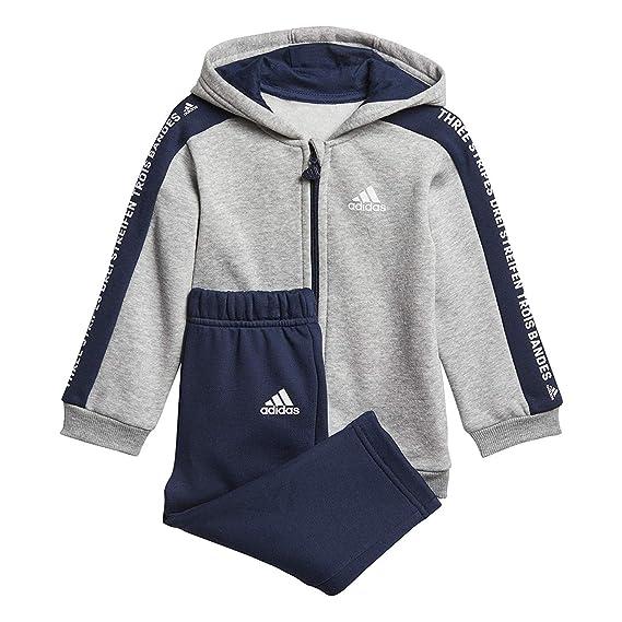 pas mal 9c72d 0a6fe adidas - Ensemble - Bébé (garçon) 0 à 24 Mois Medium Grey ...