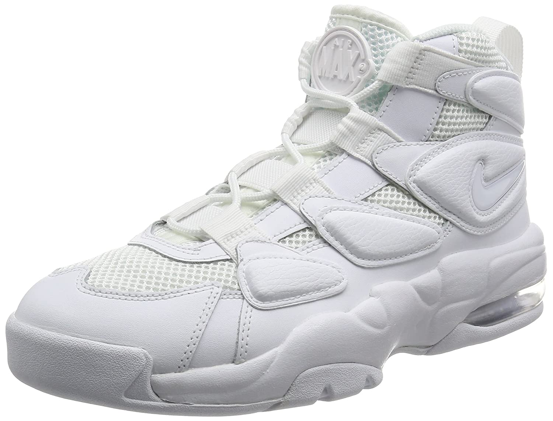 NIKE Men's Air Max2 Uptempo '94 Basketball Shoe B072LTWXBQ 11 D(M) US|White/White/White