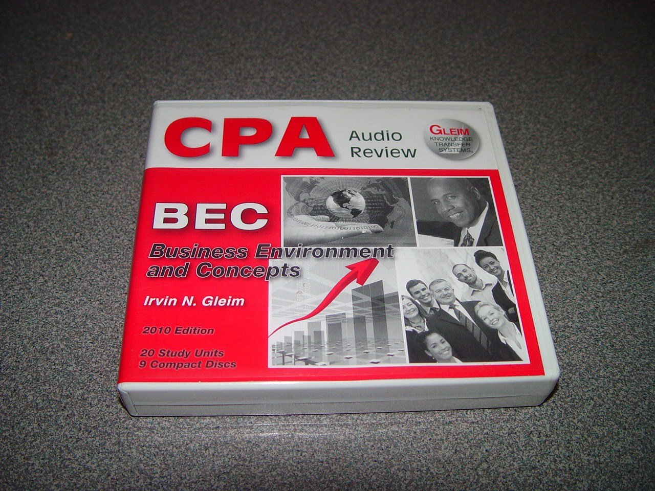 CPA Audio Review - 2010 Edition (Business Environment and Concepts) pdf epub