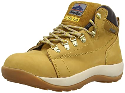 Portwest FW31HOR46 - Botas de seguridad, Marrón (Honey), 7: Amazon ...
