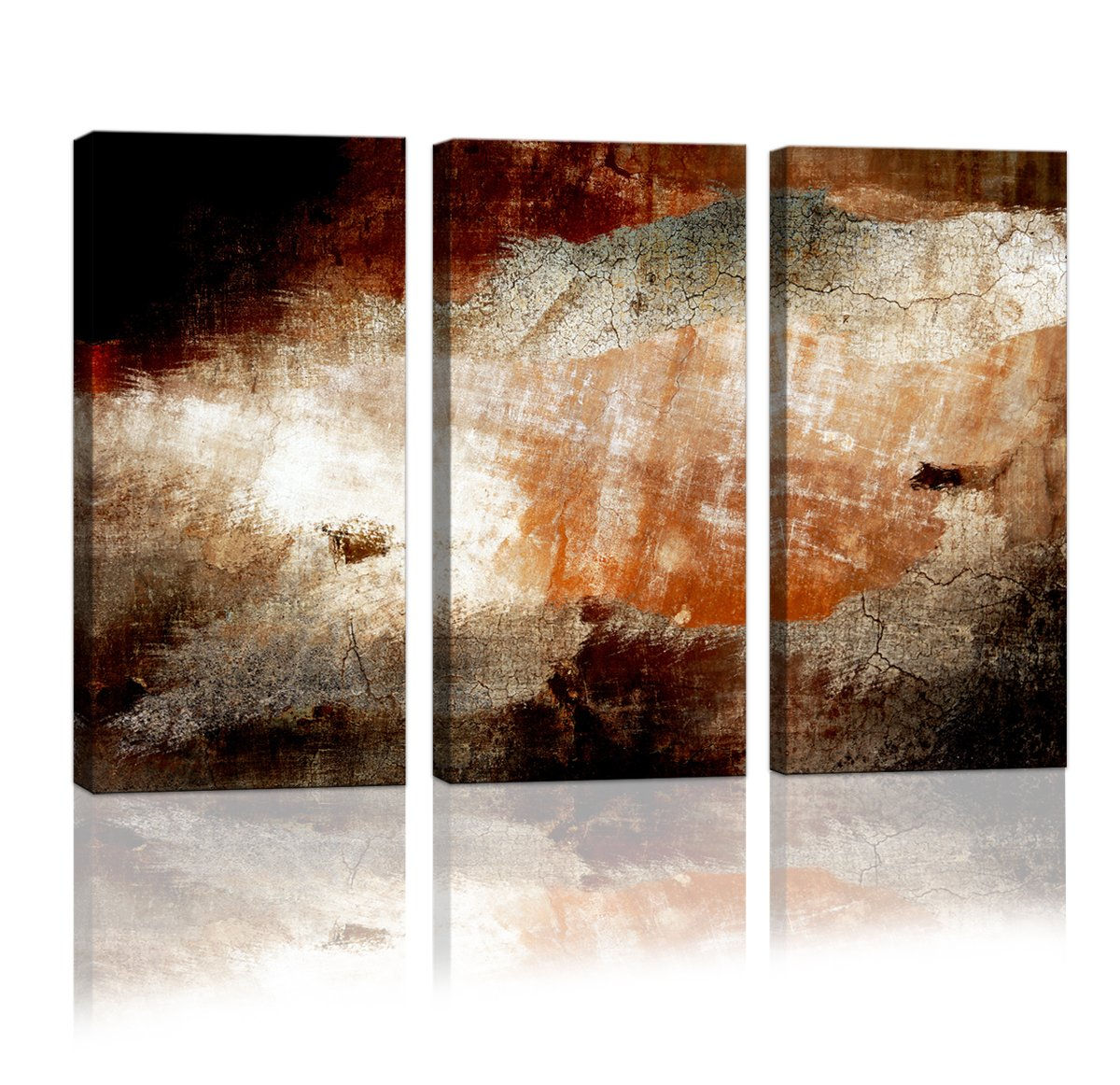 Cao Gen Decor Art-A01535 3 panels Framed Wall Art Abstract Print Painting on Canvas for Home Decor by Cao Gen Decor Art