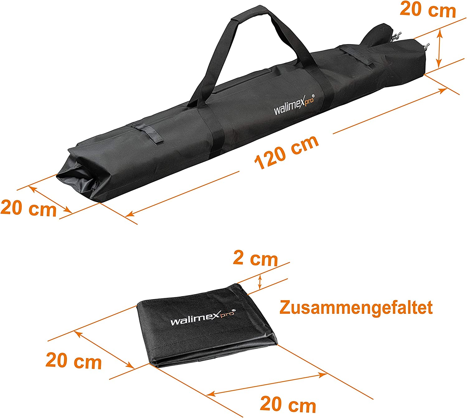 walimex Carrying Bag for Tripods//Background Systems