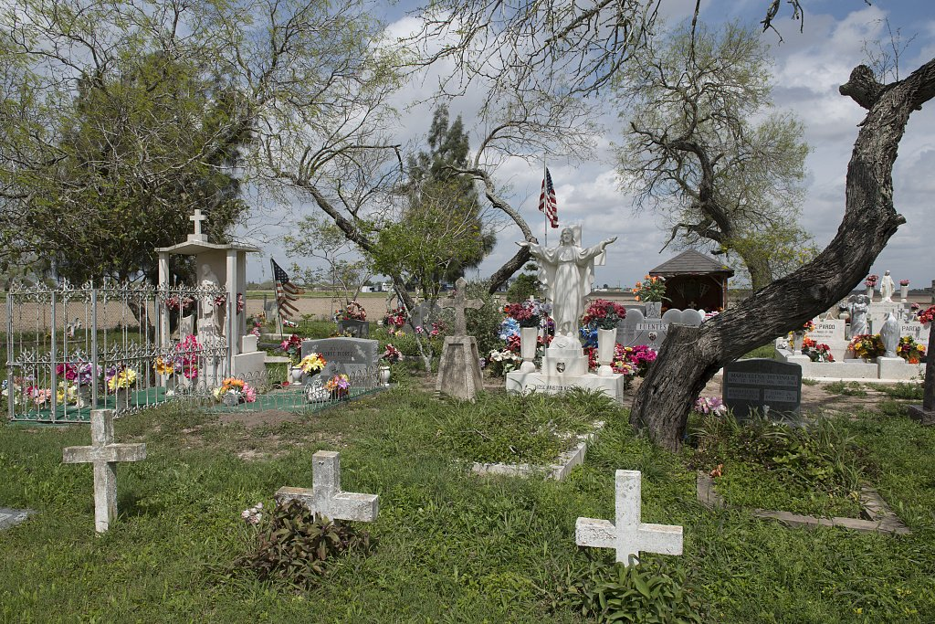 24 x 36 Giclee Print of Garcia Cemetery a Small Country Cemetery Near The Little Settlement of Los Indios in Eastern Cameron County Near The Rio Grande River Border with Mexico r09 41712 by Highs