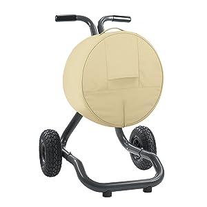 Classic Accessories Veranda Patio Free Standing Portable Garden Hose Reel Cover