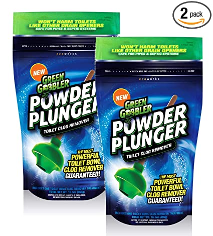 Amazon Com Ecoclean Solutions Inc Ggpp 2 Powder Plunger Toilet
