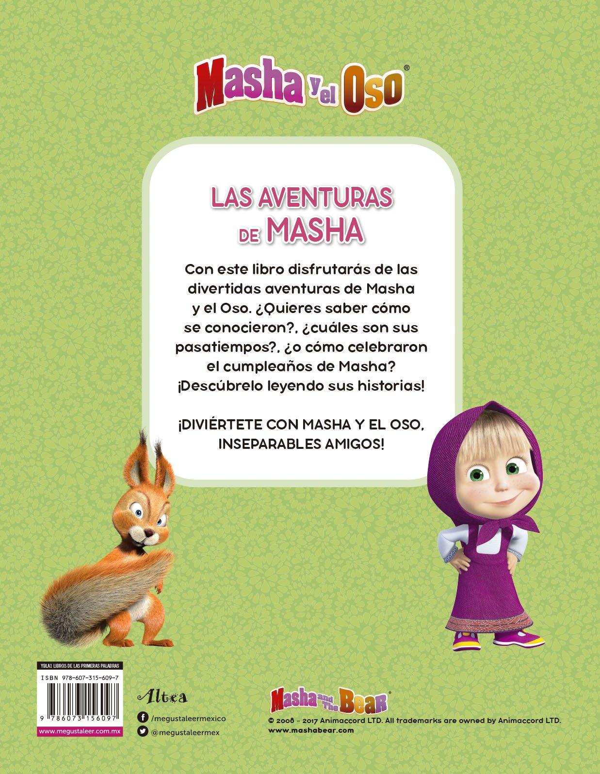 MASHA Y EL OSO. LAS AVENTURAS DE MASHA: TELEVISA ...