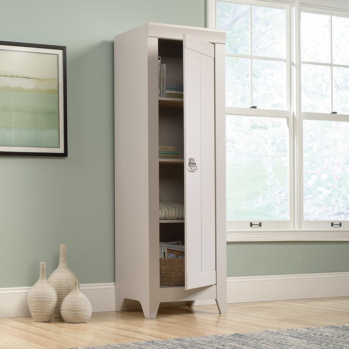 Sauder 418085 Storage Cabinet, Furniture Narrow