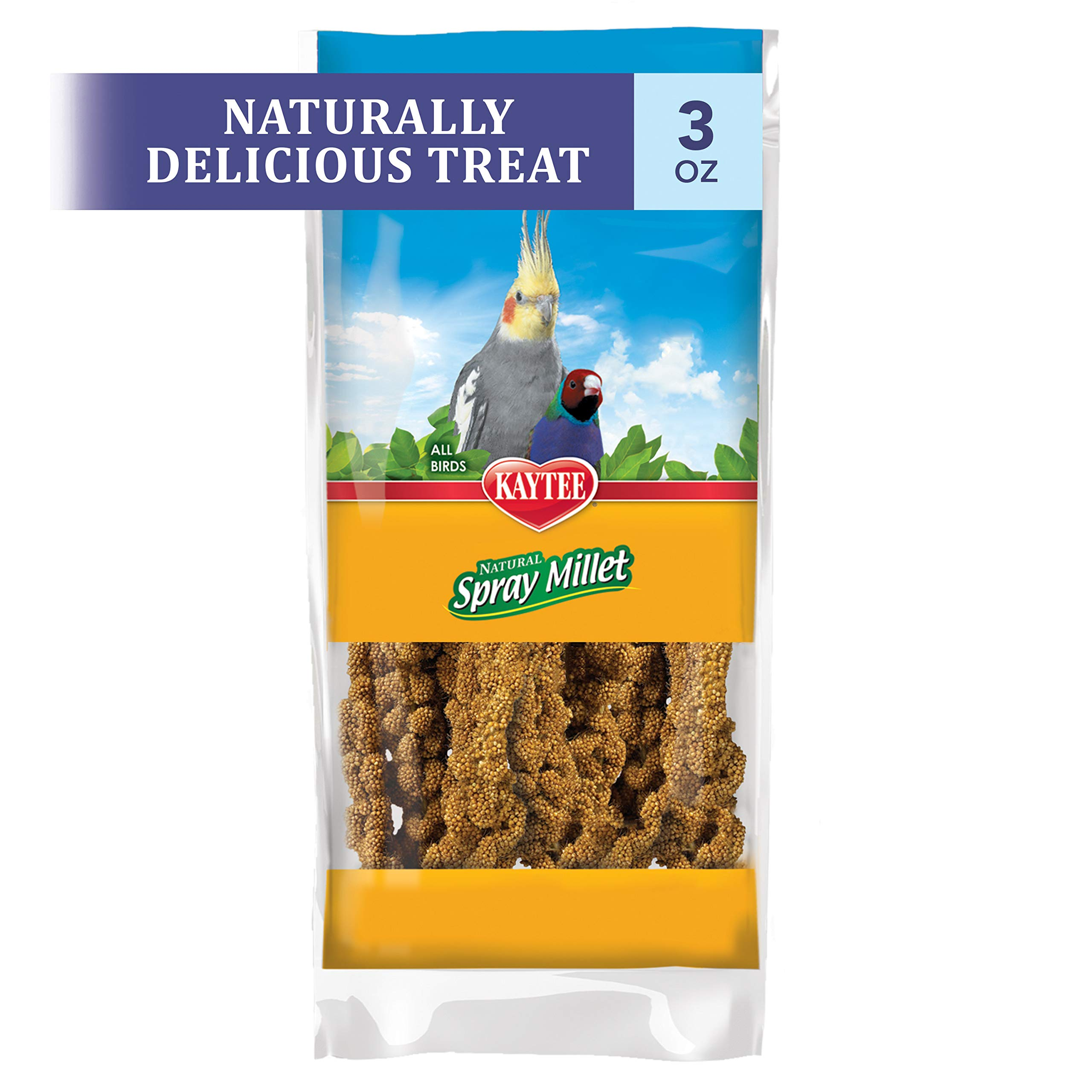 Kaytee Spray Millet For Birds, 6-Count