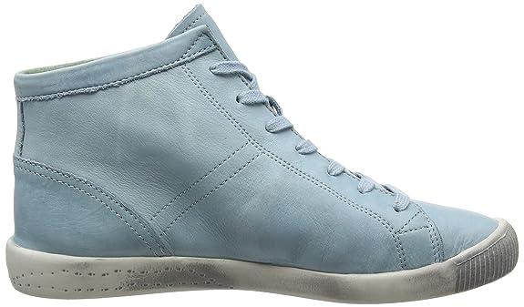 Softinos Isleen, Damen Desert Boots, Türkis (Pastel Blue), 35.5 EU