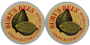 Burts Bees Lemon Butter Cuticle Creme 0.60 oz (Pack of 2) Epicuren Pumpkin Apple Spice Peel