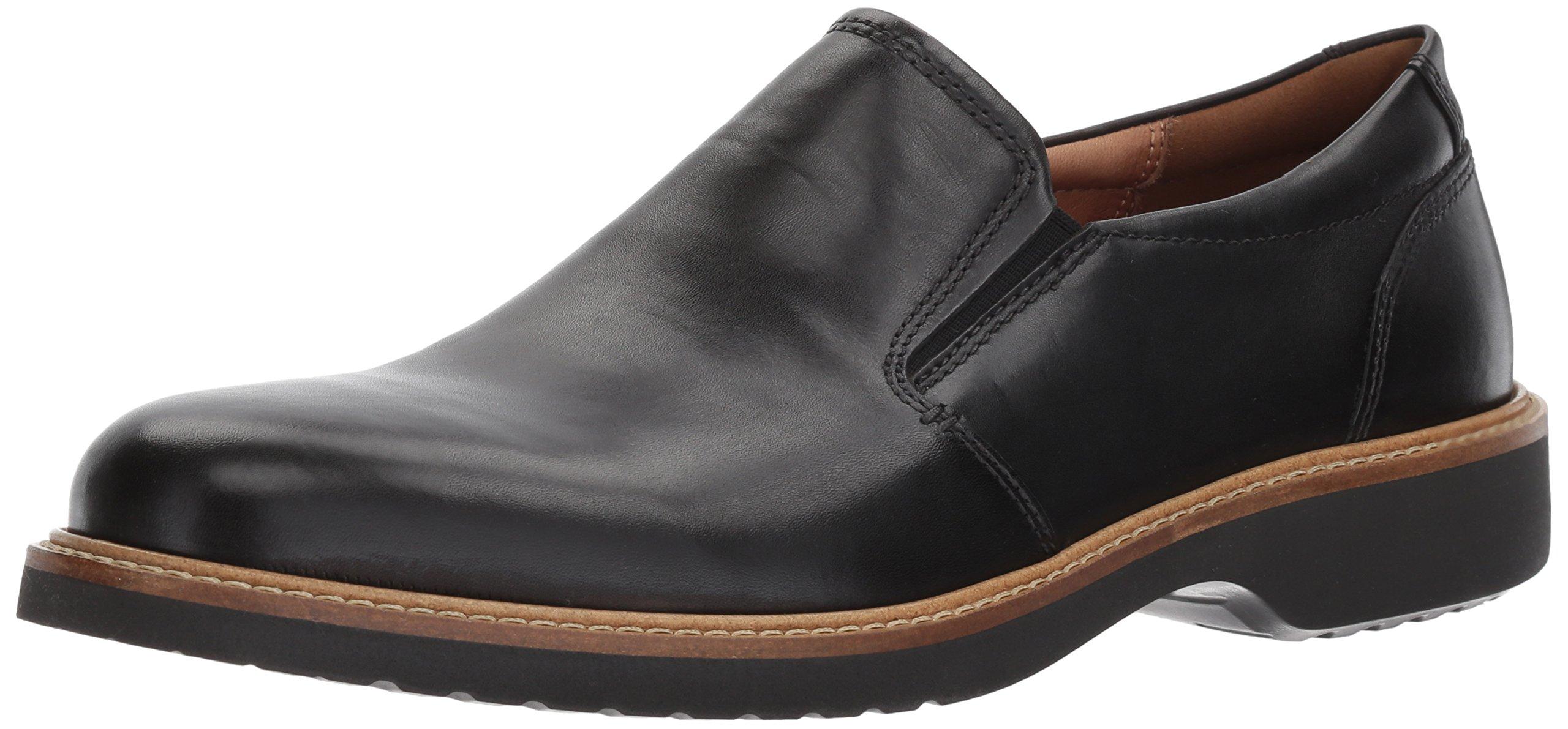 ECCO Men's Ian Casual Slip-On Loafer, Black, 42 EU/8-8.5 M US