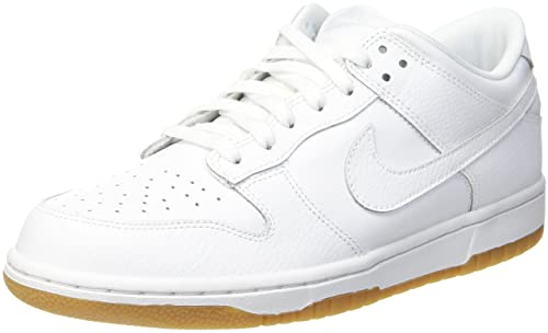 buy popular 45b86 aff13 NIKE Damen WMNS Dunk Low Gymnastikschuhe, Weiß (White-Pure Platinum-Gum Lt