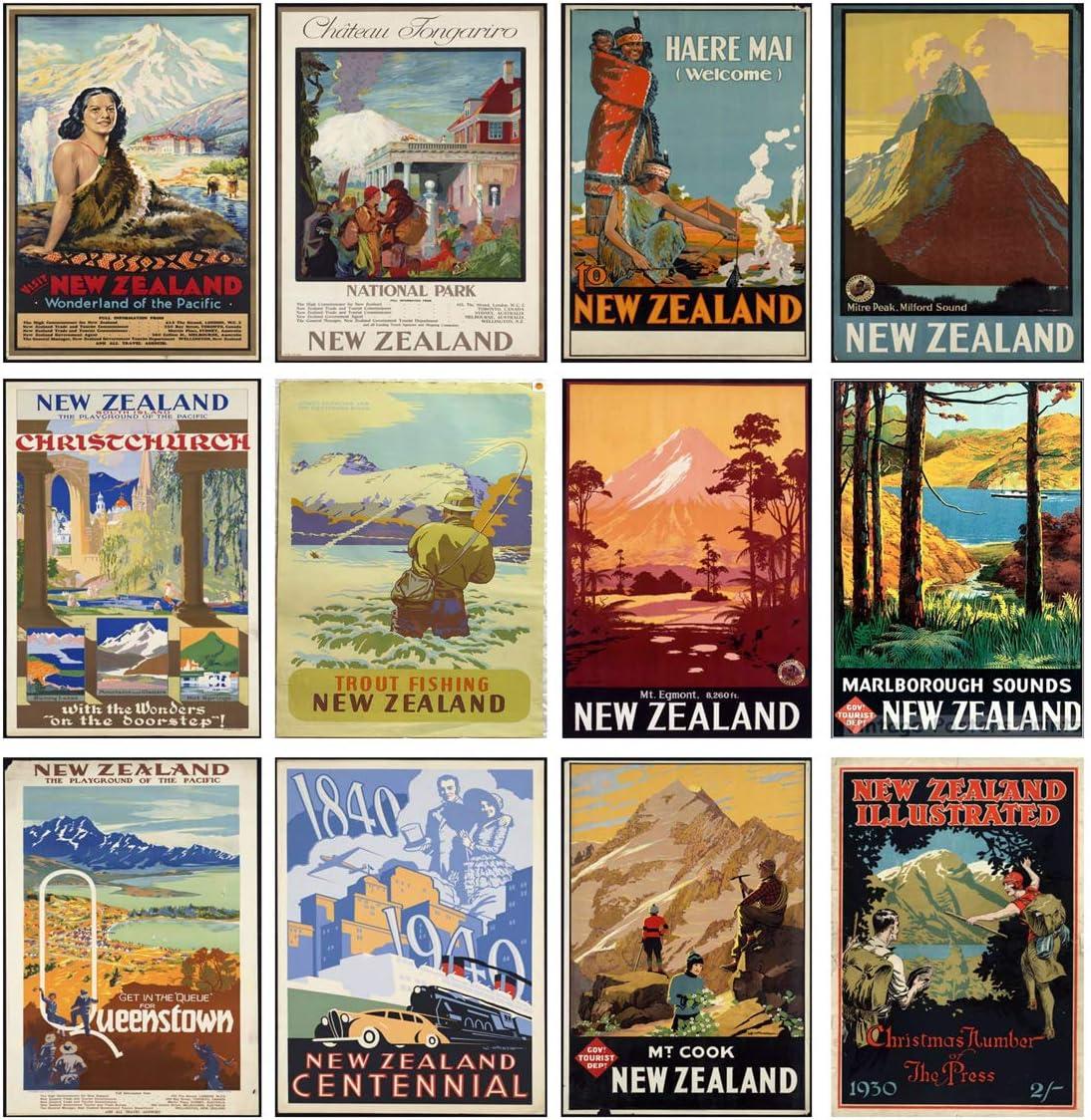 New Zealand Vintage Posters 2020 Calendar