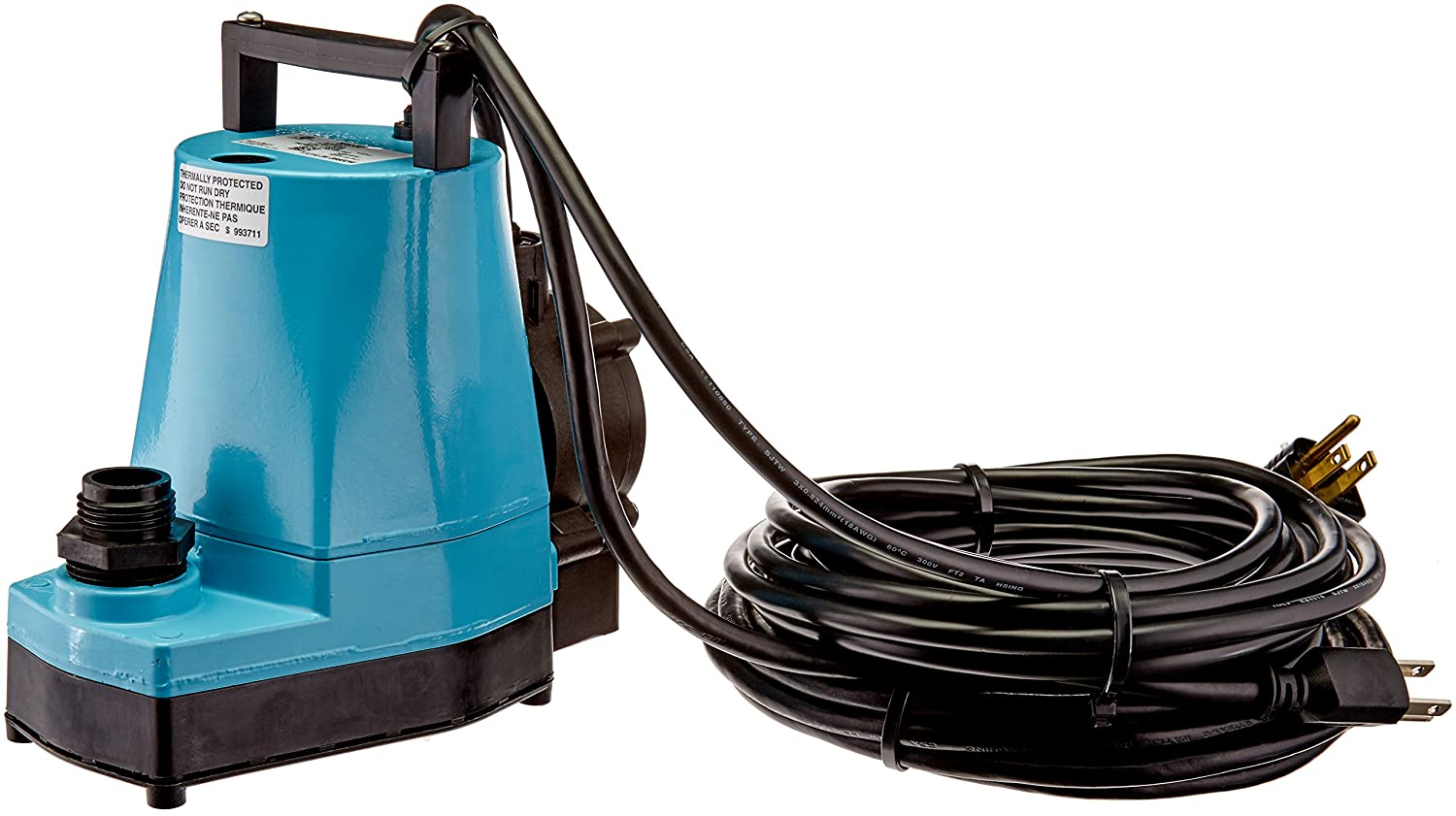 Little Giant 505355 Automatic Hydroponic Pump, Submersible Pump, 1200GPH