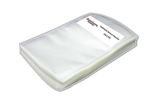 100 bolsas transparentes para aspiradora en relieve para uso ...