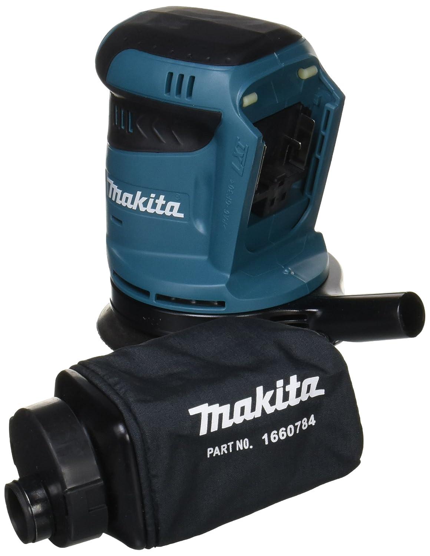 <br /> マキタ(Makita) 充電式ランダムオービットサンダ 14.4V (本体のみ/バッテリー・充電器別売) ペーパー寸法 125mm BO140DZ