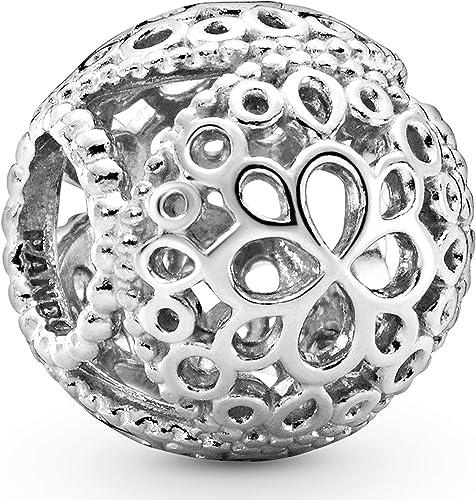PANDORA Femme Argent Charms et perles 797853: Amazon.fr: Bijoux