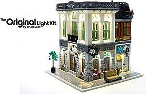 Brick Loot LED Lighting Kit for Your Lego Brick Bank Set 10251 (Lego Set NOT Included)