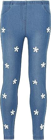 Calzedonia - Mallas de jean para niña con flores Blue - 3402 ...