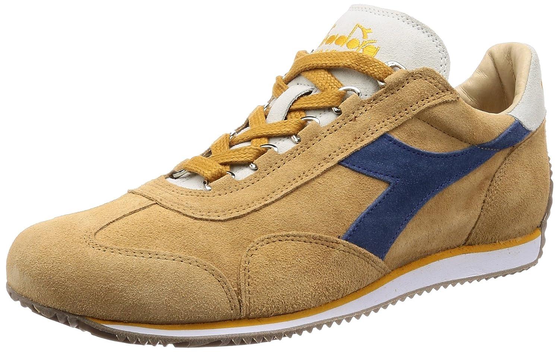 Diadora Heritage - Sneakers Equipe Stone Wash 12 para Hombre y Mujer EU 44 - US 10 - UK 9.5 (cm 28) 25130 - Caramelo Beige