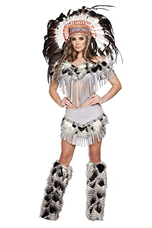 All clear, native american maiden costume