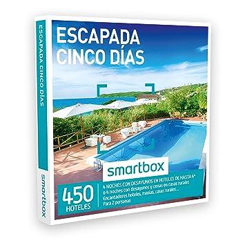 SMARTBOX - Caja Regalo - ESCAPADA CINCO DÍAS - 450 encantadores hoteles, masías, casas rurales, cortijos, haciendas...: Amazon.es: Deportes y aire libre