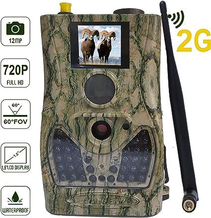 BolyGuard 2G Celular Cámara de Caza Vigilancia 12MP 720P 940nm PIR ...