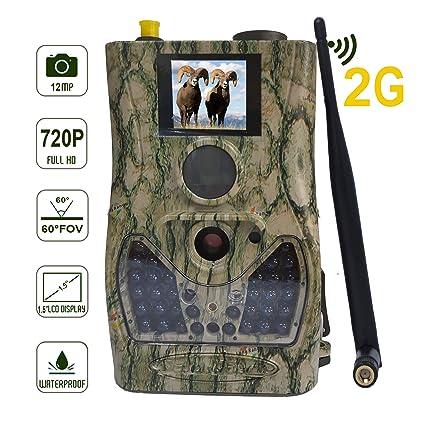 Bolyguard 2G Celular Cámara de Caza Vigilancia 12MP 720P ...