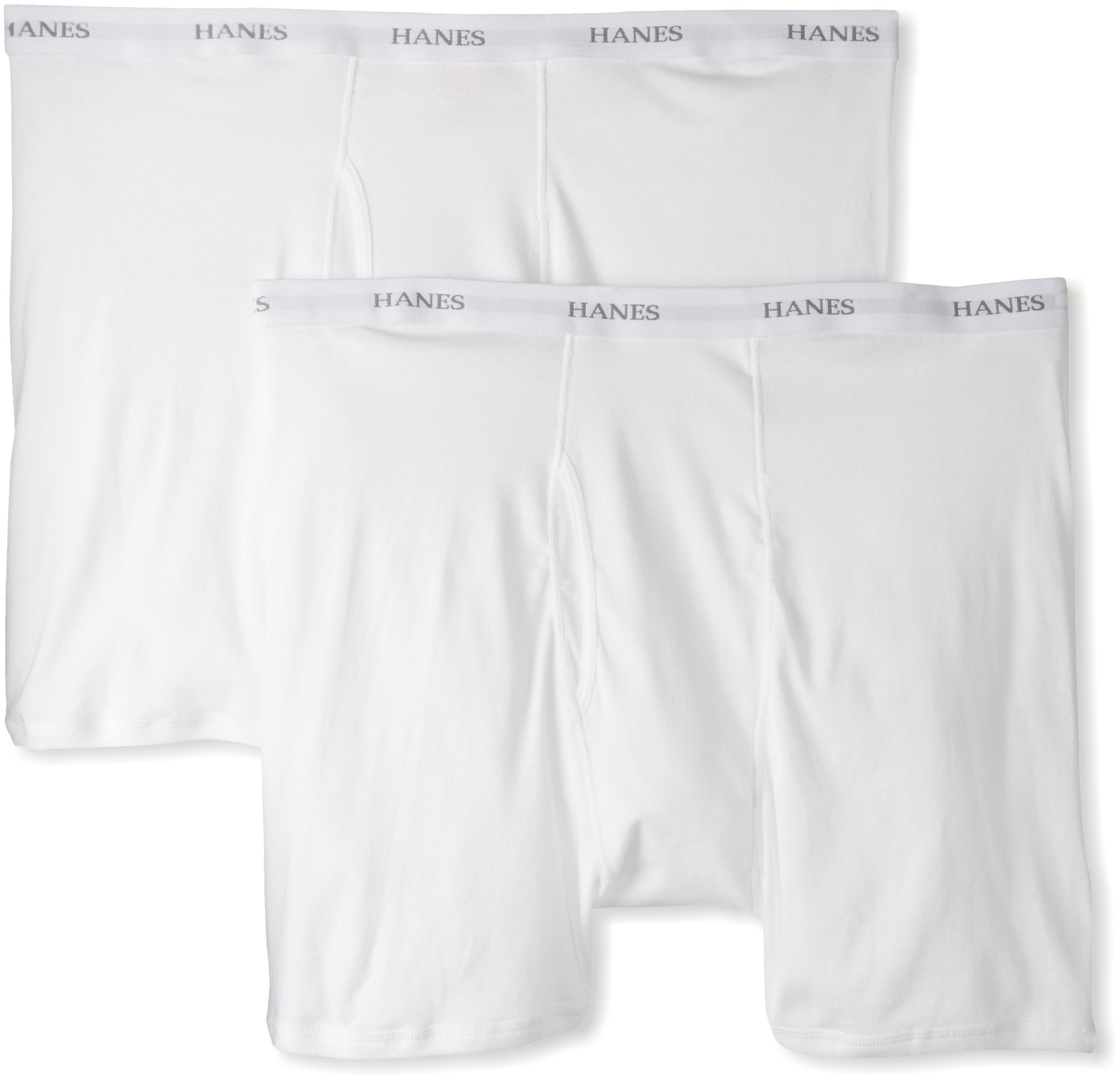 HANES CLASSICS /& HANES  two pak boxer briefs