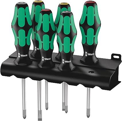 Oferta amazon: Wera 05105622004 Juego de destornilladores, 6 piezas           [Clase de eficiencia energética A]