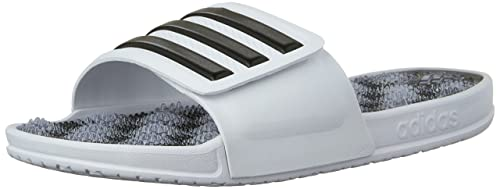 adidas Men s adissage 2.0 Stripes Slides  Amazon.ca  Shoes   Handbags ab254ffd0