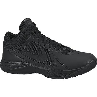 Nike The Overplay VIII, Chaussures de Basketball homme, Noir (Black/Black/