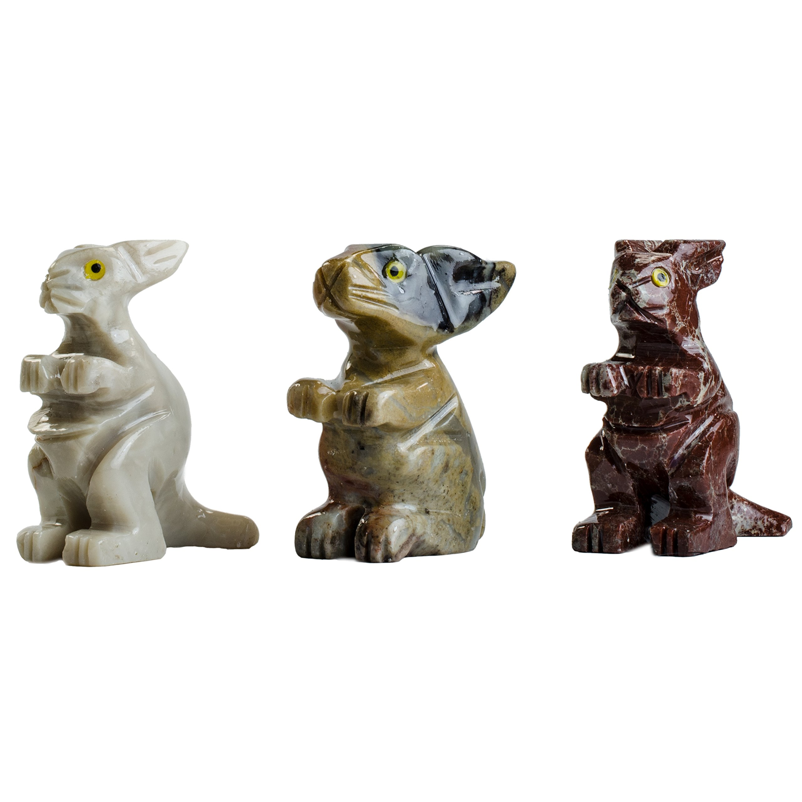 Digging Dolls : 30 pcs Artisan Bunny Collectable Animal Figurine - Party Favors, Stocking Stuffers, Gifts, Collecting and More!