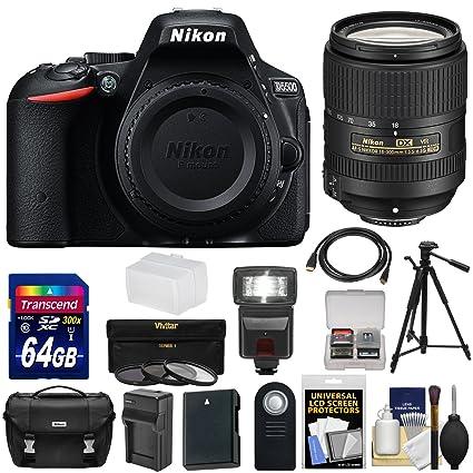 Amazon.com: Nikon D5500 WiFi Tarjeta de cuerpo de la cámara ...
