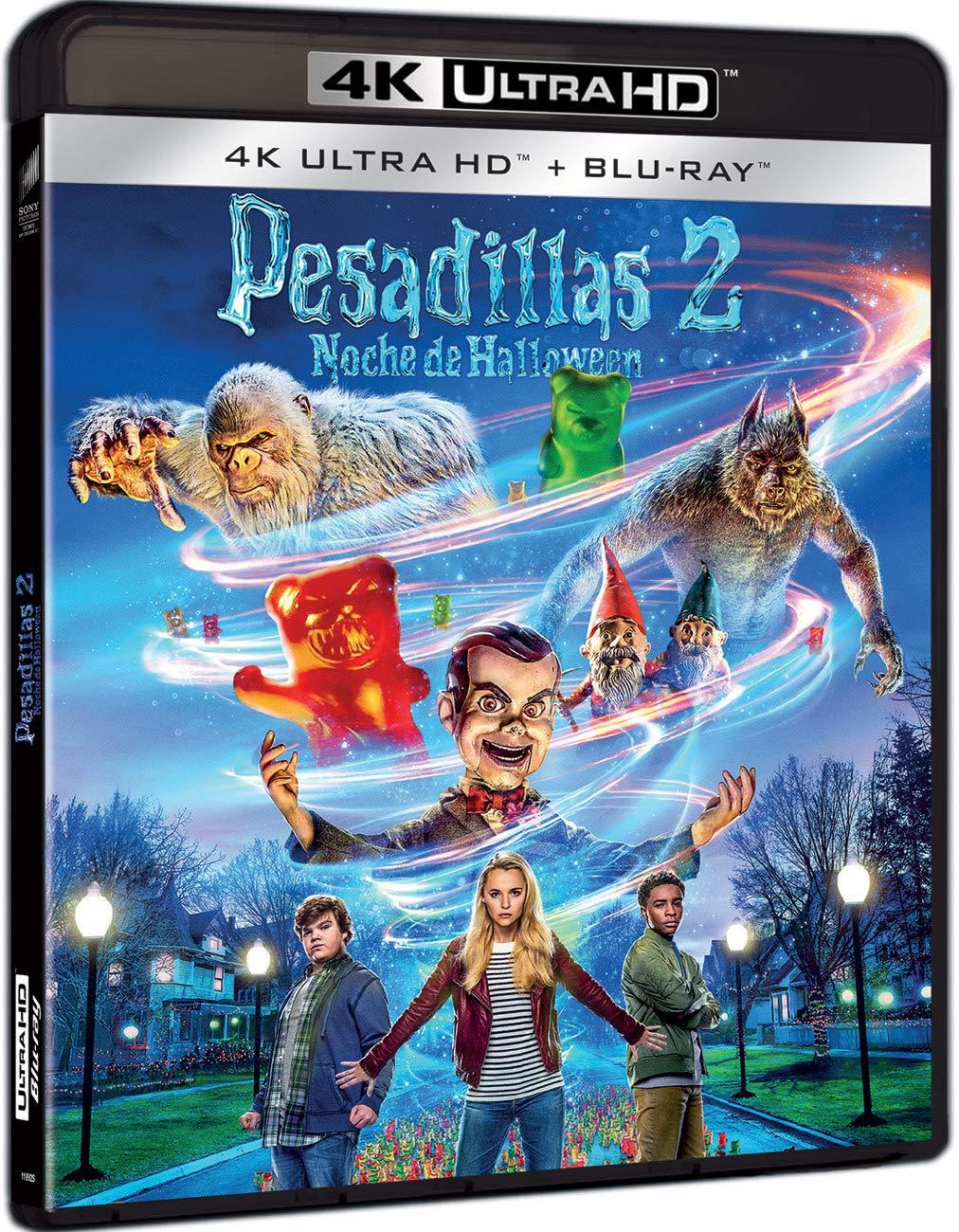 Pesadillas 2: Noche De Halloween 4K UHD + BD Blu-ray: Amazon.es: Wendi Mclendon-Covey, Madison Iseman, Jeremy Ray Taylor, Ari Sandel, Wendi Mclendon-Covey, Madison Iseman, Columbia Pictures Corporation: Cine y Series TV
