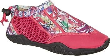38eac0f9bda6 Reel Legends Womens Oceania Water Shoes 10 Rnbw jngle