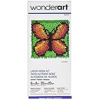 WonderArt - Juego de Ganchos para Cerrojo, Butterfly 8 X 8, Butterfly 8 x 8, 1