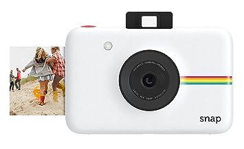 Polaroid Snap - Cámara digital instantánea, tecnología de impresión Zink  Zero Ink, 10 Mp, Bluetooth, micro SD, fotos de 5 x 7.6 cm, blanco   Amazon.es  ... 4259746995