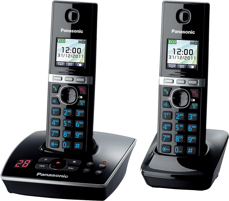 Panasonic KX-TG8062GB - Teléfono (200 entradas, TFT 1.45