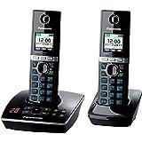 Panasonic téléphone analogique KX-TG8062GB, Noir