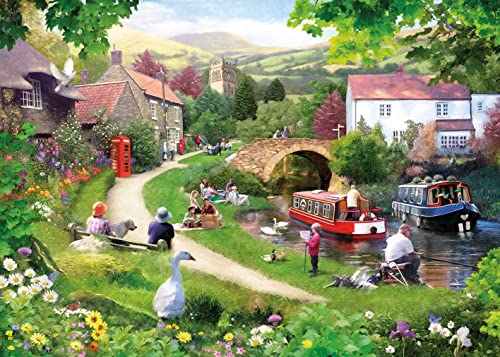Gibsons Life in the Slow Lane Jigsaw Puzzle, 1000 piece