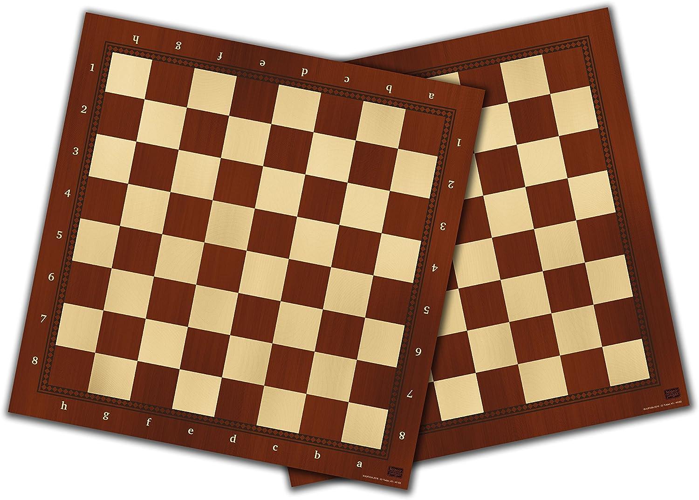 Falomir Tablero de ajedrez y Damas 40cm, Juego de Mesa, Clásicos ...