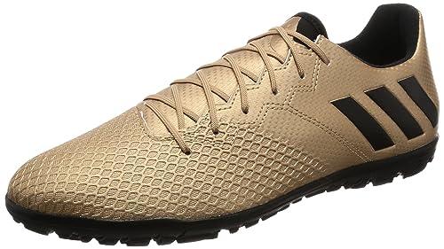 premium selection 1f049 c8c7a Adidas Messi 16.3 TF, Scarpe da Calcio Uomo, Marrone  (Bronzo Cobmet Negbas Versol), 41 EU  Amazon.it  Scarpe e borse