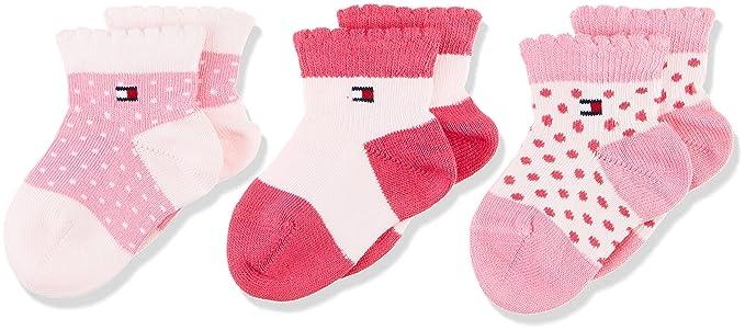 Tommy Hilfiger Calcetines para Bebés (Pack de 3)