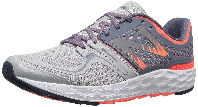 New Balance Women's Fresh Foam Vongo Stability Running Shoe B0163GEL0E 6 B(M) US|Silver/Pink
