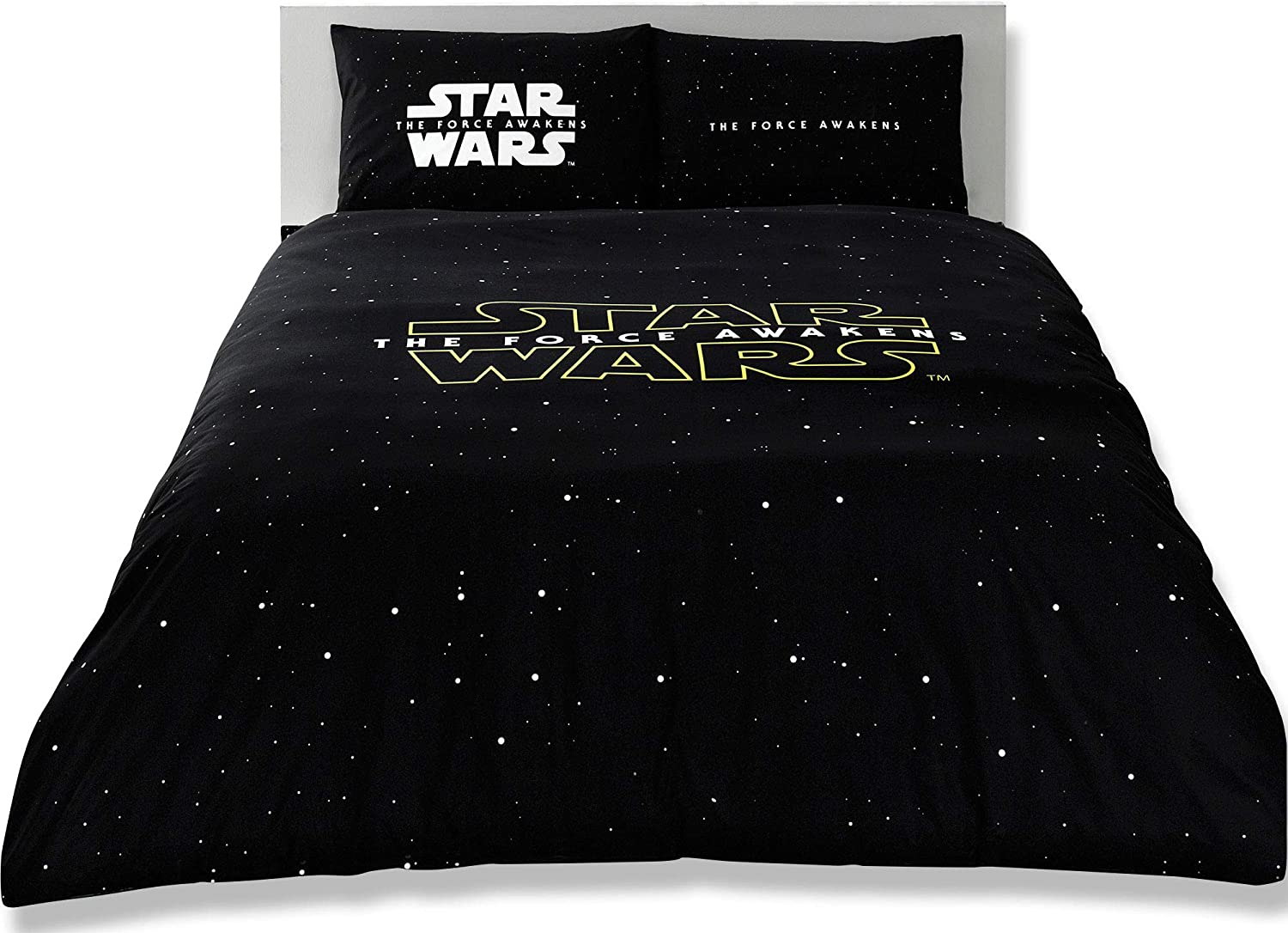 The Force Awakens Star Wars Licensed 100% Cotton 4pcs Full - Queen Size Bedding Linens