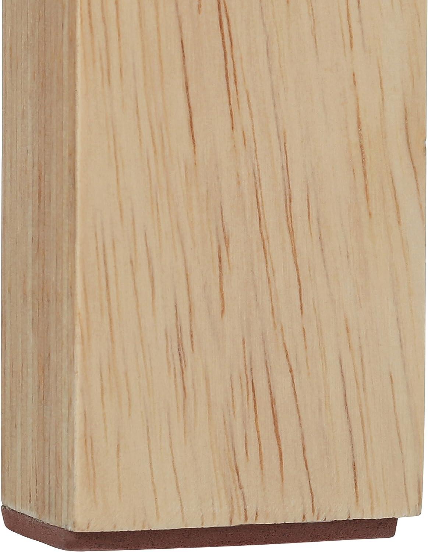 44 x 37 x 37 cm Premier Housewares Rubberwood Round Stool