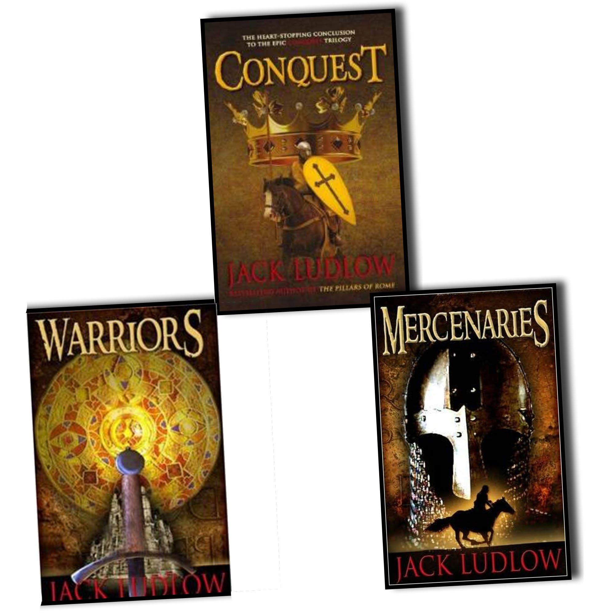 Jack Ludlow Conquest Trilogy 3 Books Set Pack RRP : 23.97